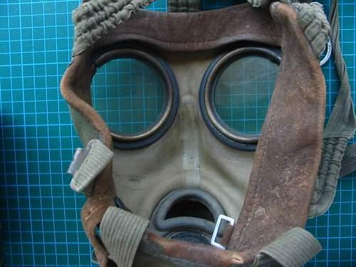 German made Greek gasmask