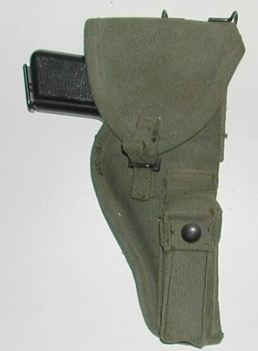 Click image for larger version.  Name:2nd P'51 Web Holster for Inglis Pistol (HP35).jpg Views:1838 Size:46.2 KB ID:116330