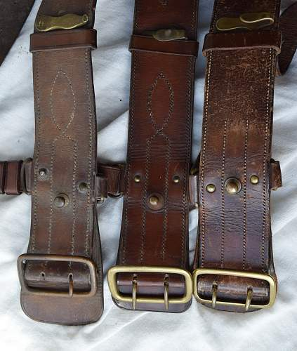 Inter war Sam Browne belts..... Dateable?