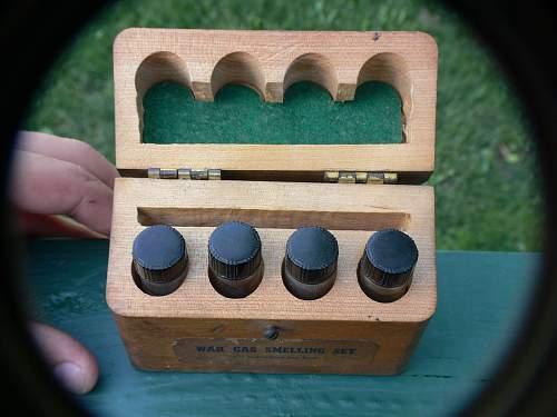 War Gas Smelling Kit
