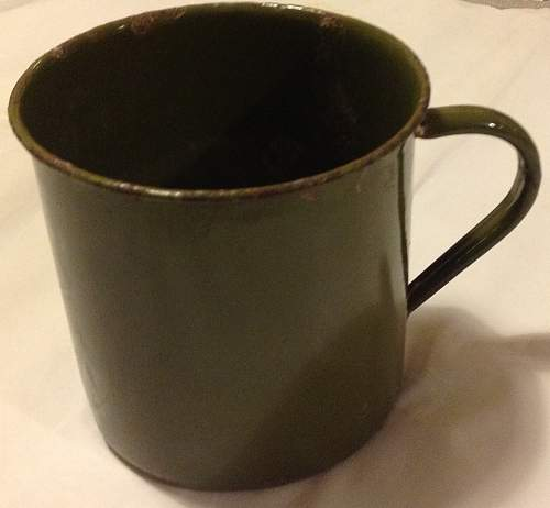 Enamel Mugs of the British Empire