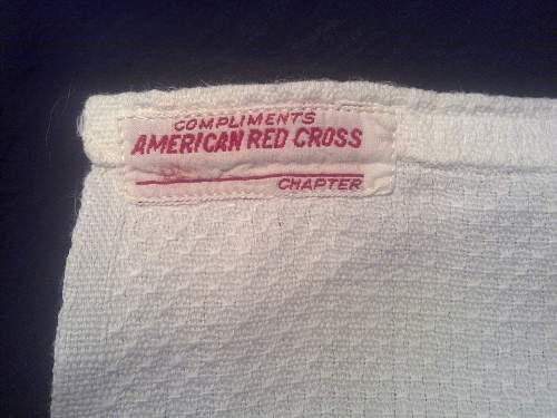 American Red Cross bandage