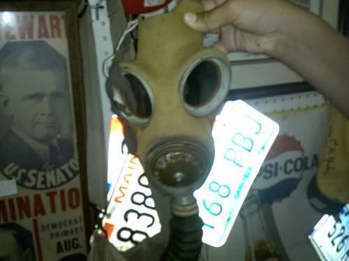 US Gas mask ID??