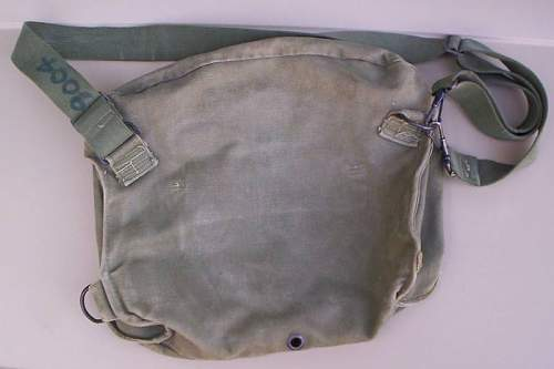 Markings on a WW2 US M6 Gas Mask bag?