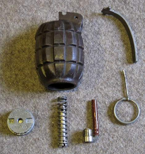 "British No 36 ""Mills Bomb"" Grenade"