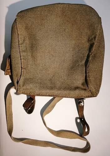 Swiss WW2? bike bag