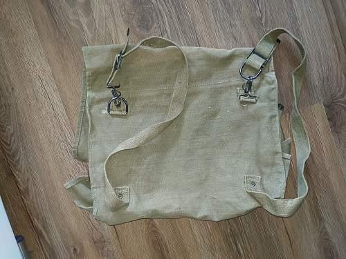 British clothing bag?