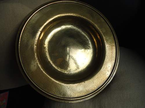 An Interesting RAF ( Air Ministry) Brass Dish