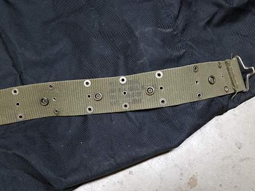 Help Me Identify this Type of this U.S. Pistol Belt