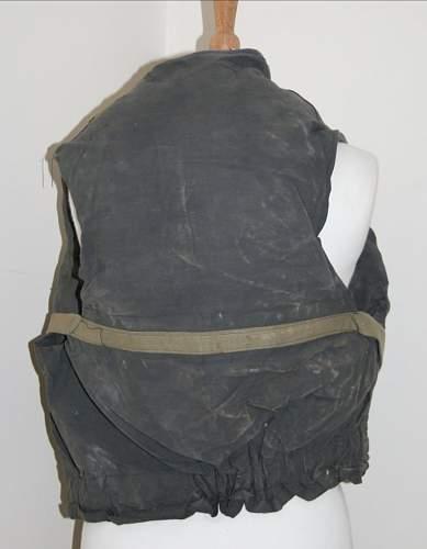 Unusual vest dated 1942?