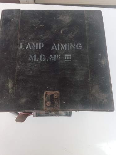 Lamp Aiming MG Mk III - what bulbs?