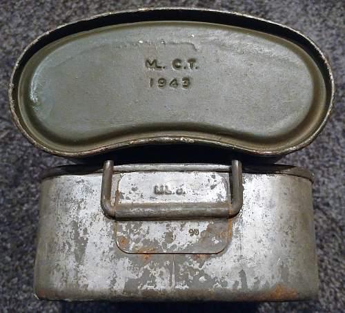 """ML. C.T. ~ 1943"" Water Bottle Mystery Solved!"