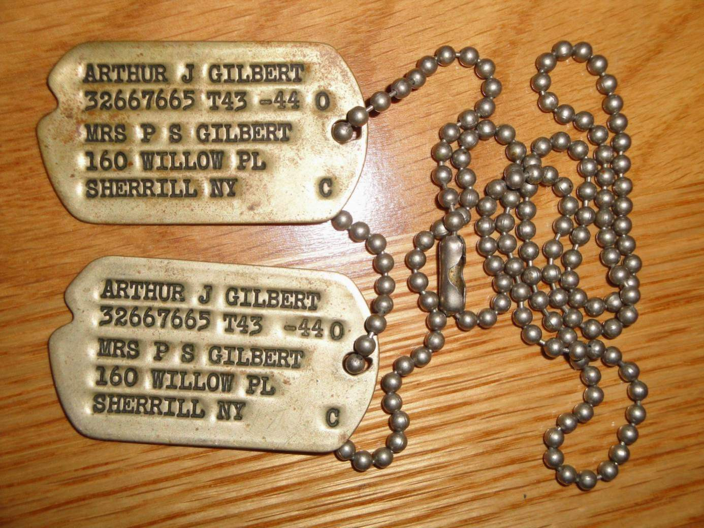 When Do You Get Dog Tags In The Army