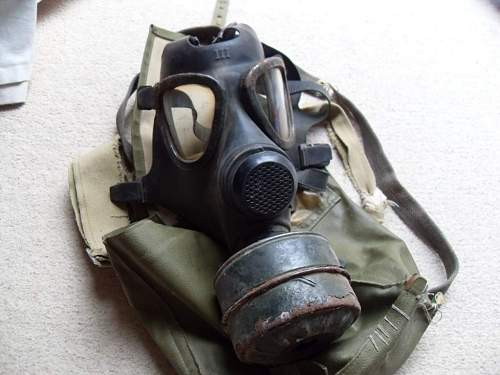 WW2 police home guard gas mask?