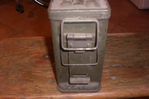 Ammunition box -how old?