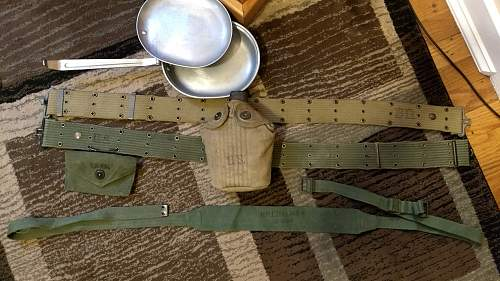 Unknown piece of late war US webbing?