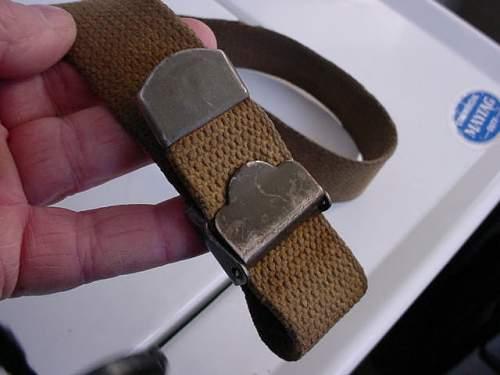 M1 garand sling,British made?