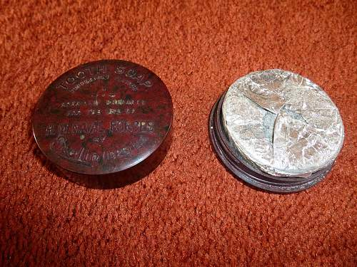 WW2 British Royal Navy Issue Toothpaste in original container