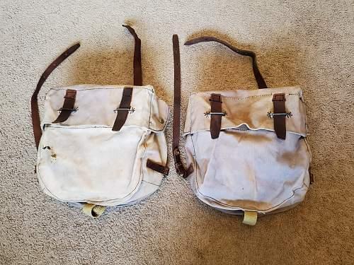 WW2 British Saddle bags 1941 MK1