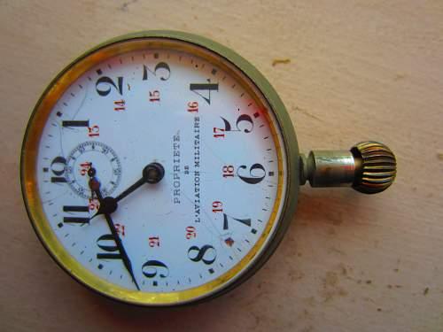French Aviator Watch