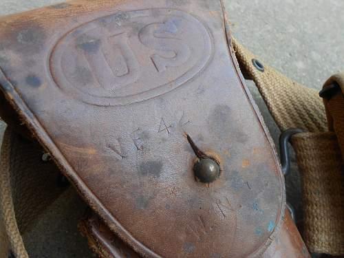 1941-1942 Holster & Utility Belt