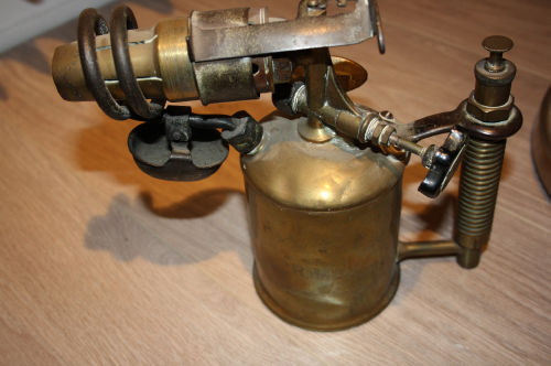 Another mystery for me? Some kind of Swedish blowtorch?