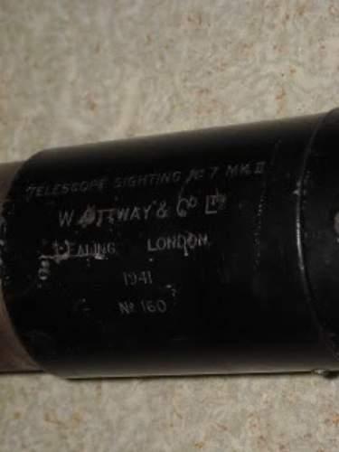 British Gun Telescope