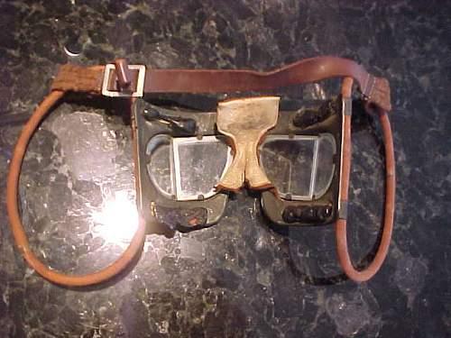 Ww 2  raf goggles