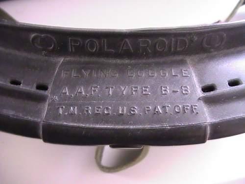 US WW2 goggles