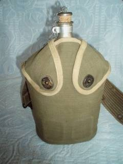 is this a French Indochina war era canteen pouch?