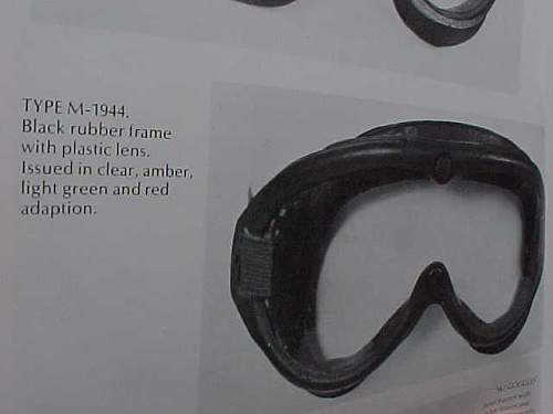 US army goggles ???