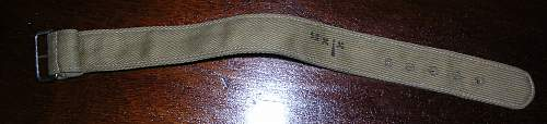 Watch Strap , Military?