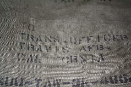 USAF Duffle Bag Wording