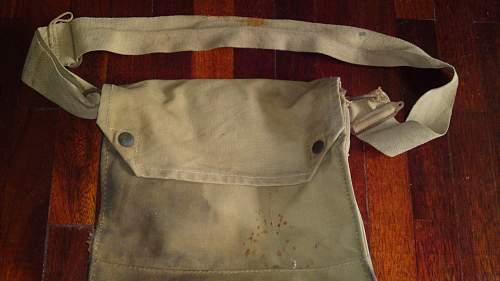 WW2 British gas mask bag???