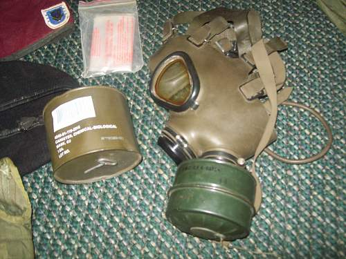 WW2 US Gask Mask and Tanker Goggles