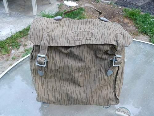Unusual camo field pack ?