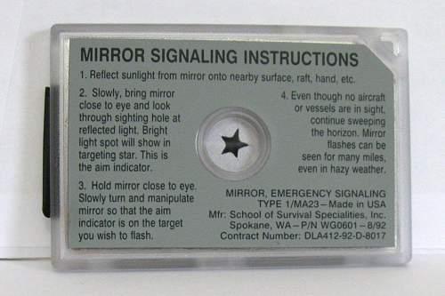 Signalling Mirror
