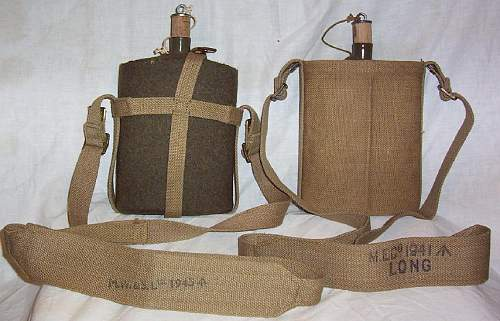 Water bottles and carrier