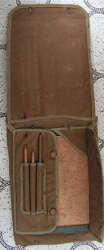 WW1 Guards officers map case