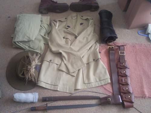 Australian Wash kit (Hold all)