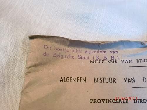 Belgian civic gas mask
