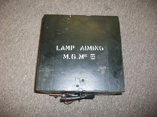 Australian MG aiming lamp (Jungle)