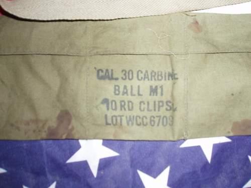 ID of M1 bandolier