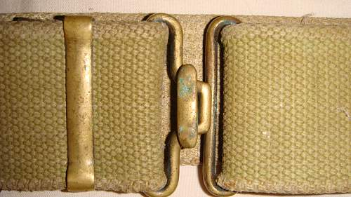 Found this old belt. WWII?