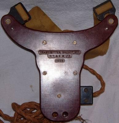 Telephone attachment headgear A.A. MK.111