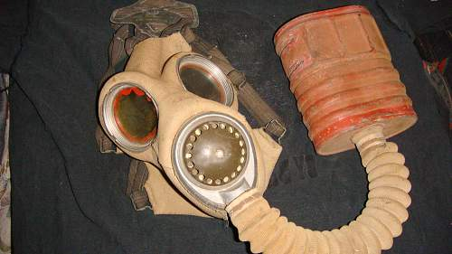 Gas masks and Asbestos.