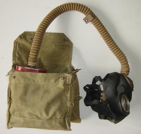 Scarce British Long tube respirator