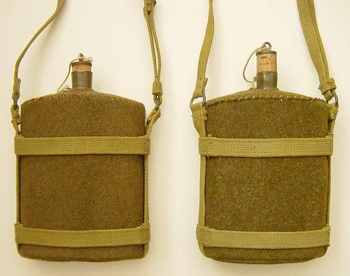 Home Guard and ATS pattern water bottle carrier