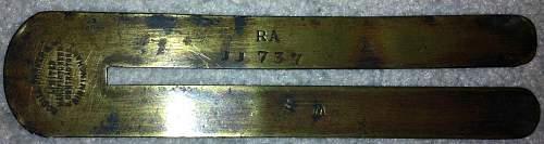 WW2 Button Stick