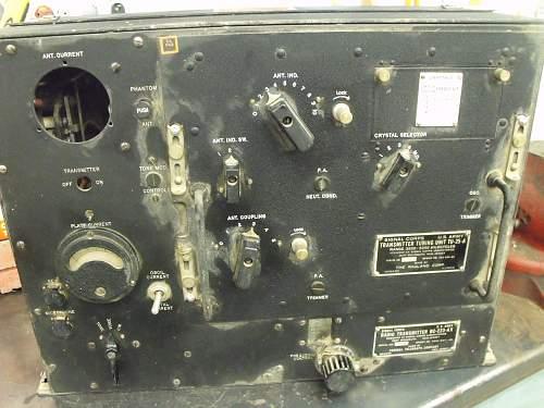 US ARMY SIGNAL CORPS  BC-223 Radio Transmitter